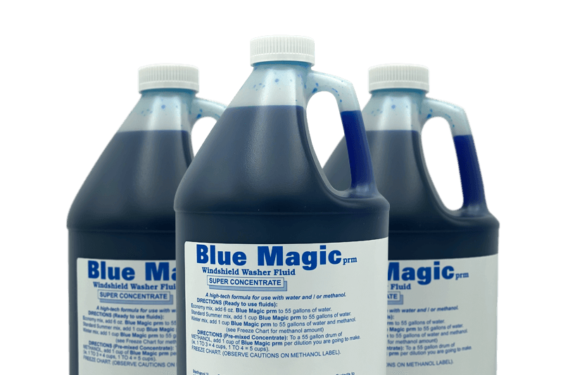 Chem-Pro Blue Magic Window Washer and Double Power Concentrate Cleaner