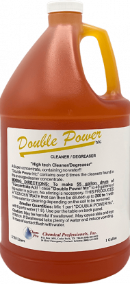 Double Power Concentrated Cleaner and Degreaser